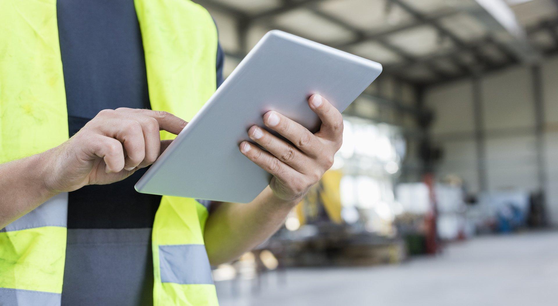 digital work checklists